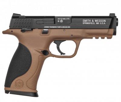 Пистолет пневматический Umarex Smith & Wesson MP40 TS FDE