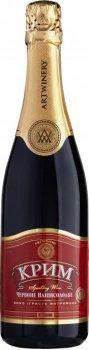 Вино игристое Крим красное полусладкое 0.75 л 10-13.5% (4820003350102)