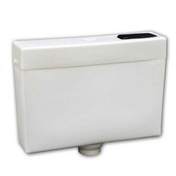 Бачок пластиковый низкий, боковой подвод воды LM (LM10889081)