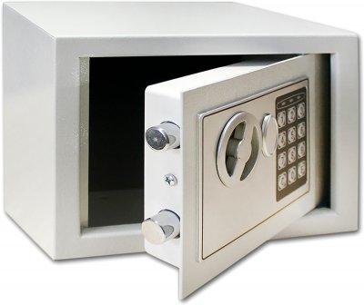 Сейф мебельный SteelNet SN-МС-17Е-7035