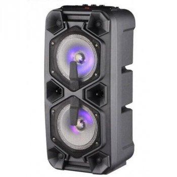 Портативная Bluetooth колонка акустическая система с микрофоном пультом и радио Ailiang Lige-720