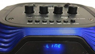 Колонка аккумуляторная беспроводная Bluetooth с микрофоном AILIANG UF-5602-DT