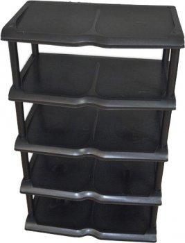 Полиця для взуття Proff 31x48x80 см Чорний (PF2601816)