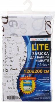 Завіска для ванної VANSTORE Arlov 63212 120х200