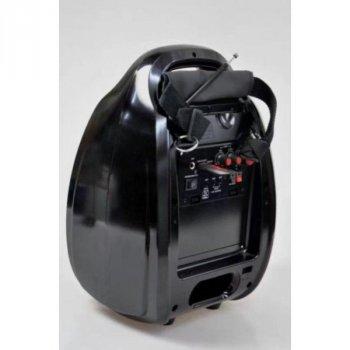Колонка-чемодан Golon RX-810BT со светомузыкой, с микрофоном +bluetooth