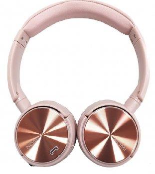 Наушники беспроводные Nomi NBH-470 Rose Pink