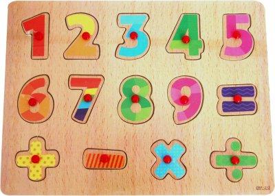 Рамка-вкладыш Руді Цифры (Р10у-1) (4823056103312)