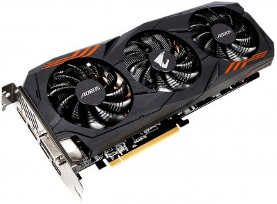 Gigabyte PCI-Ex GeForce GTX 1060 Aorus 6GB GDDR5 (192bit) (1607/8008) (DVI, HDMI, 3 x Display Port) (GV-N1060AORUS-6GD)