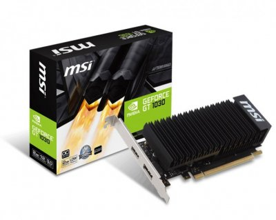 Відеокарта MSI GeForce GT 1030 2GH LP OC (F00137262)
