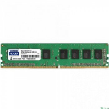 Модуль памяти GOODRAM 4GB [1x4GB 2400MHz DDR4 CL17 SODIMM] (GR2400S464L17S/4G) (F00148247)