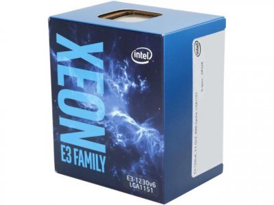 Процесор Intel Xeon E3-1230 v6 (BX80677E31230V6) (F00134831)