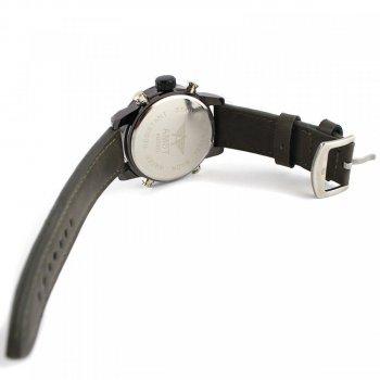 Кварцевые часы AMST AM3022 Черные, коричневые (V1330)