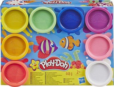 Игровой набор Hasbro Play Doh 8 цветов Радуга (E5062) (E5044) (5010993560196)