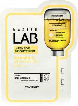Тканевая маска для лица Tony Moly Master Lab с витамином С 19 г (8806358558666)