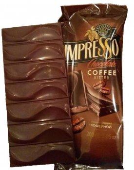 Шоколад Спартак Impresso Coffee c кофейной начинкой 200 г