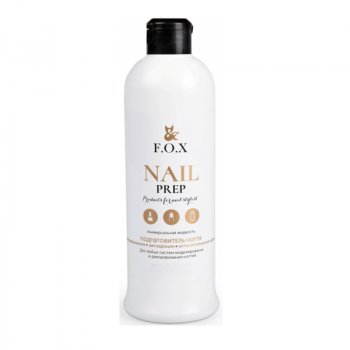 Засіб для знежирення і дегідратації нігтів F. O. X Gold Nail Prep 200 мл