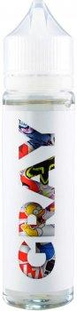 Рідина для електронних сигарет Sticker Bomb Gray 60 мл (Ананасово-мангове морозиво)