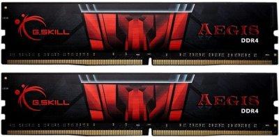 Оперативна пам'ять G.Skill DDR4-3000 32768MB PC4-24000 (Kit of 2x16384) Aegis (F4-3000C16D-32GISB)