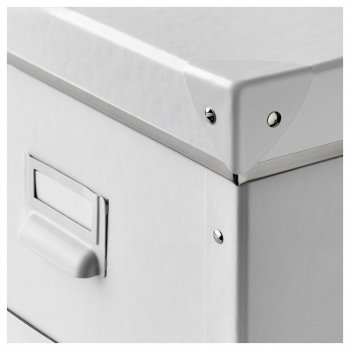 Контейнер для зберігання IKEA FJÄLLA 25x36x20 см білий 603.956.83