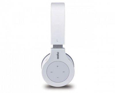Стереогарнитура Rapoo H6060 Bluetooth Белый (DC-H6060 white)