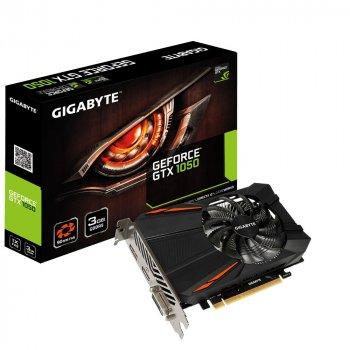 Відеокарта GeForce GTX1050 Gigabyte 3Gb DDR5 96bit DVI/HDMI/DP 1556/7008 MHz GVN1050D53GD