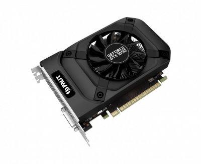 Відеокарта GeForce GTX1050 Palit StormX 2Gb DDR5 128bit DVI/HDMI/DP 1455/7000 MHz NE51050018411070F