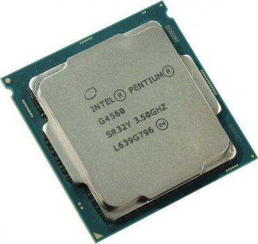 Процесор Intel Pentium LGA1151 G4560 Tray 2x35 GHz HD Graphic 610 1050 MHz L3 3Mb Kaby Lake 14 nm TDP 54W CM8067702867064
