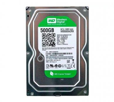 Жорсткий диск 3.5' 500Gb Western Digital Green SATA3 64Mb IntelliPower WD5000AZRX Ref