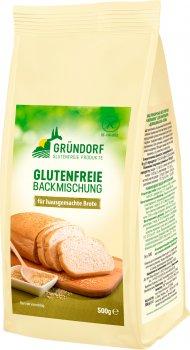 Смесь пекарская Gründorf без глютена для выпечки домашнего хлеба 500 г (4260386590052)