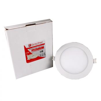 Світильник стельовий Electro House EH-LMP-1272 LED панель кругла 12W Ø 170мм