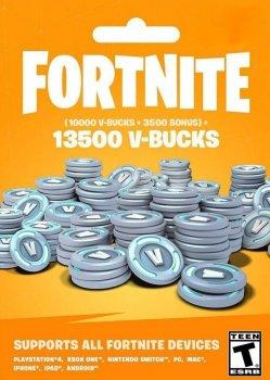 Fortnite 13500 В-баксів 10000 + 3500 V-BUCKS Всі платформи
