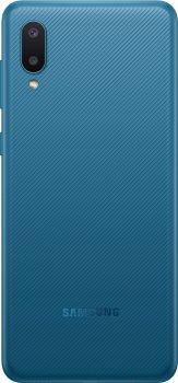Мобільний телефон Samsung Galaxy A02 2/32 GB Blue (SM-A022GZBBSEK)
