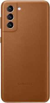 Панель Samsung Leather Cover для Samsung Galaxy S21 Plus Brown (EF-VG996LAEGRU)