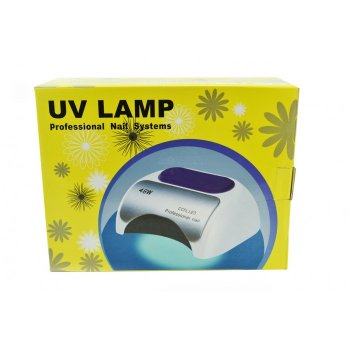 Гибридная ультрафиолетовая LED лампас таймером светодиодная UV Lamp 48 Вт сушилка для маникюра и педикюра Белая