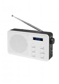 Портативний радіоприймач DAB+/UKW Bluetooth Medion 17,4х10х4,9см Білий 32000000213521