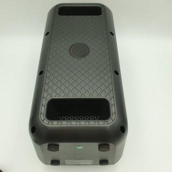 Акустична система Ailiang акумуляторна бездротова Bluetooth колонка з мікрофоном радіо і вбудованим сабвуфером комбо підсилювач пульт Чорна (UF-3801)