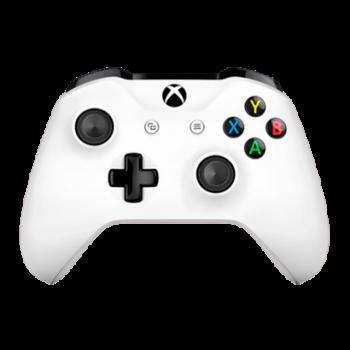 Геймпад Бездротовий Microsoft Xbox One S Version 2 White 3.5 mm, Б/В, Гарний