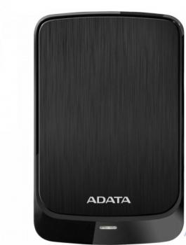"""Жорстку зовнішній диск A-DATA USB 3.1 Gen1 HV320 2TB 2,5"""" Чорній (AHV320-2TU31-CBK)"""