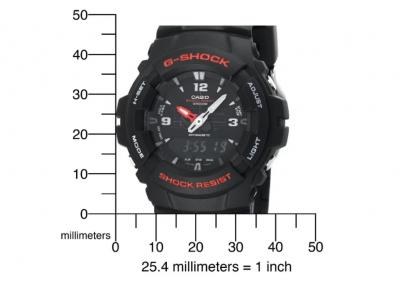 Годинник CASIO G-Shock G100-1BV Чорні
