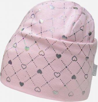 Демисезонная шапка David's Star 2136 48 см Розовая (ROZ6400049497)