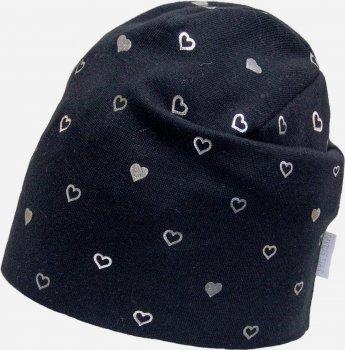 Демисезонная шапка David's Star 2126 52 см Черная (ROZ6400049530)