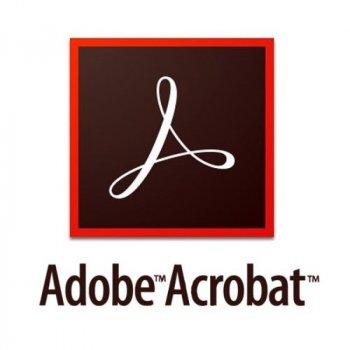 Adobe Acrobat Standard DC for teams. Ліцензії для комерційних організацій і приватних користувачів, річна передплата (VIP Select передплата на 3 роки) на одного користувача в межах замовлення від 50 до 99 (65297920BA13A12)