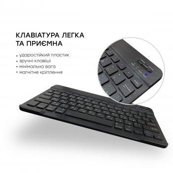 Беспроводная Bluetooth клавиатура AIRON Easy Tap для Smart TV и планшета с силиконовой накладкой на клавиши
