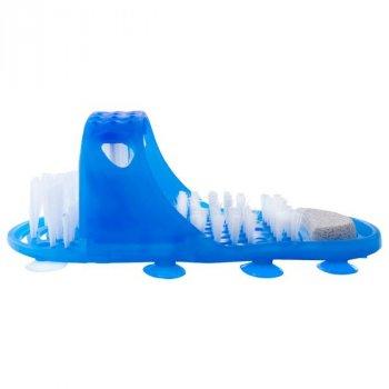 Щетка-тапок массажер для ног с пемзой Elite Easy Feet (EL-1258)