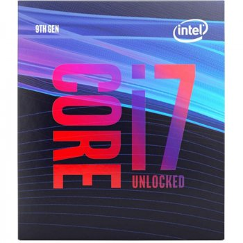 Процесор Intel Core i7-9700KF 3.6 GHz/8GT/s/12MB (BX80684I79700KF) s1151 BOX