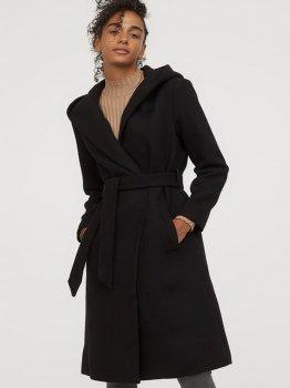 Пальто H&M 0312878 Чорне