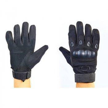 Перчатки тактические с закрытыми пальцами Tactical Force Oakley, код: BC-4623-BK