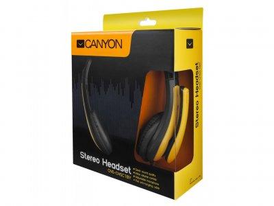 Гарнитура Canyon CNS-CHSC1BY Black/Yellow