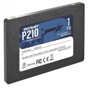 """Накопичувач SSD 2.5"""" 1TB Patriot (P210S1TB25)"""