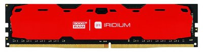 Оперативная память Goodram DDR4-2400 16384MB PC4-19200 Iridium Red (IR-R2400D464L17/16G)